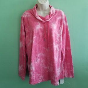 Style & Co. Women's Tie Dye Sweatshirt XL